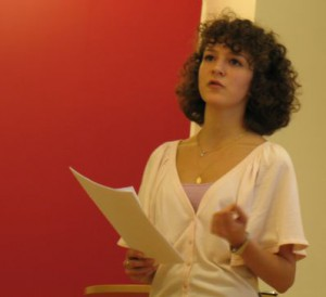 Svetlana Vasilyeva talar om bysantinsk konst